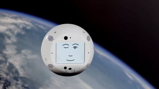 SpaceX launched a flying robot head that will befriend lonely astronauts on the space station - and later spy on them