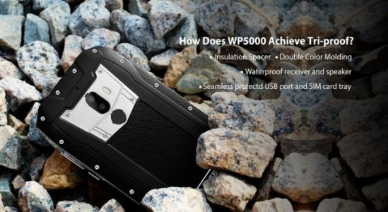 Rugged OUKITEL WP5000 tested in the destruction video