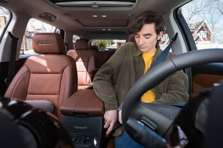 Seat belts will be required in Chevrolet's new Teen Driver Mode