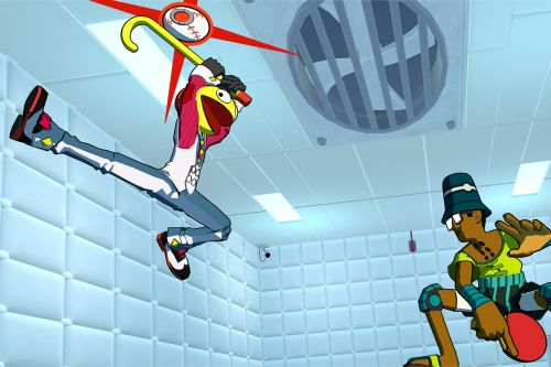 Lethal League Blaze turns handball into a stylish fighting game