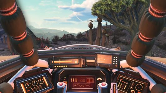 No Man's Sky: Living Ship adds biological ships, new story, and more