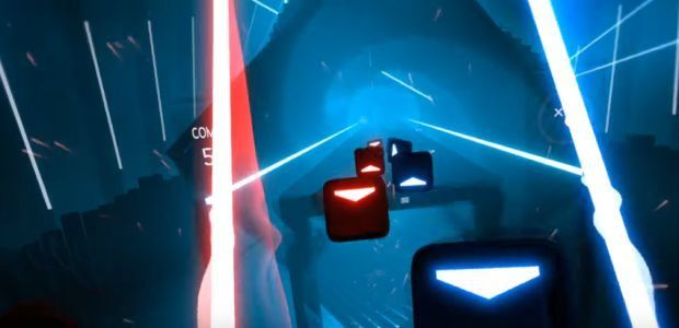 Beat Saber is Guitar Hero for wannabe Jedi
