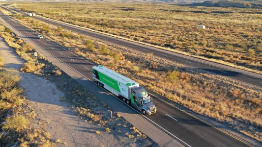 Autonomous trucking startup TuSimple is taking 3 to 5 commercial trips a day