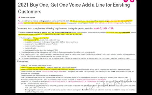Leaked document details T-Mobile's upcoming offer for existing customers