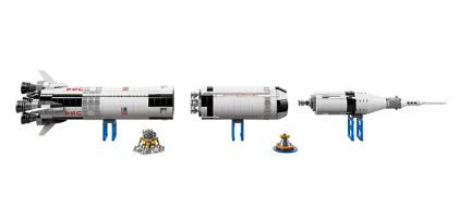 Your next Lego masterpiece is a $120 NASA Saturn V rocket