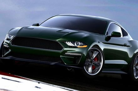 Live out your Steve McQueen fantasies with this souped-up Ford Mustang Bullitt