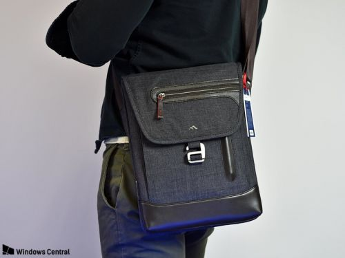 New Collins Vertical Messenger Bag is a simple, stylish way to tote a Surface Pro