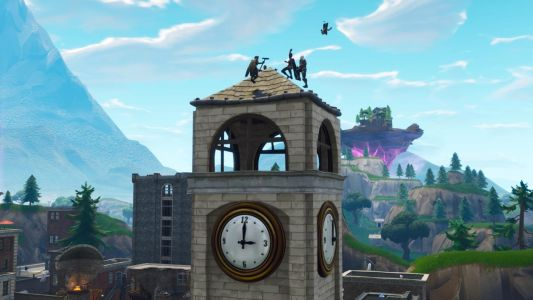 Fortnite Week 4 Challenge Guide: Dance On Clock Tower, Pink Tree, Porcelain Throne Location