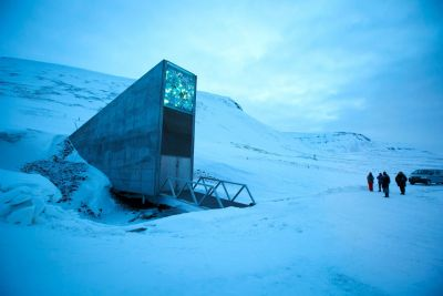 Melted permafrost floods doomsday seed vault