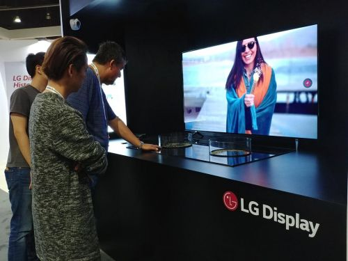 LG Will Show 77-inch Flexible And Transparent OLED At SID