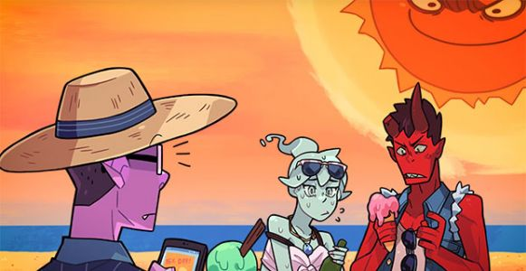 """Punch the sun in Monster Prom's new """"F*ckin' Hot"""" update"""