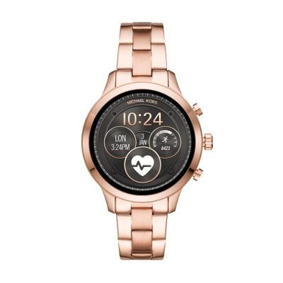 Michael Kors Unveils Runway Smartwatches With Wear OS