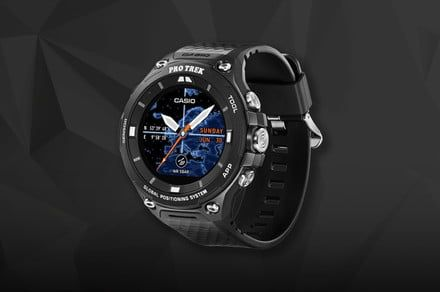 We're giving away a $500 Casio Pro Trek smartwatch in a flash giveaway