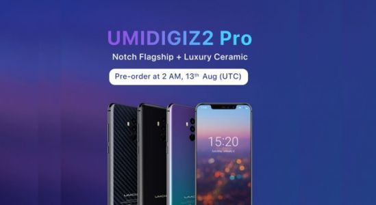 UMIDIGI Z2 Pro Presale Will Kicks Off at Gearbest on Aug 13th, Plus Giveaway!