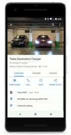 Google Adds EV Charging Stations to Maps