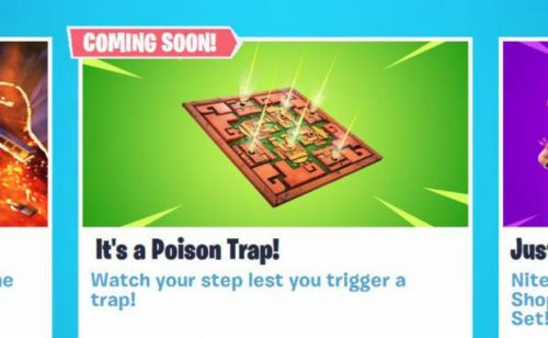 Fortnite Poison Trap item leaked by Epic ahead of 8.20 update