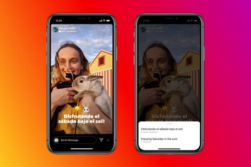 Instagram Stories adds translated text - CNET