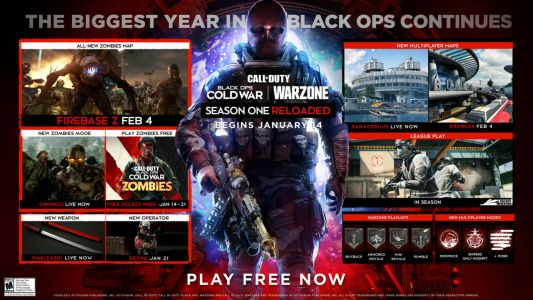 Call Of Duty: Black Ops Cold War Mid-Season Update Now Available