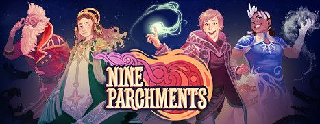 Now Available on Steam - Nine Parchments