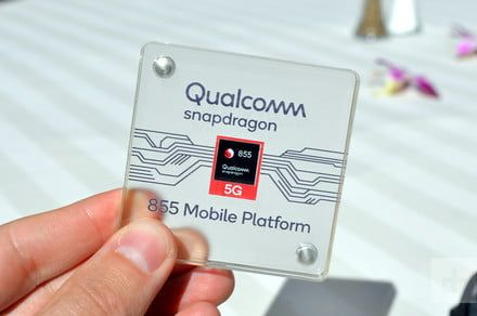 The Qualcomm Snapdragon 855 has smart card-equivalent security certification