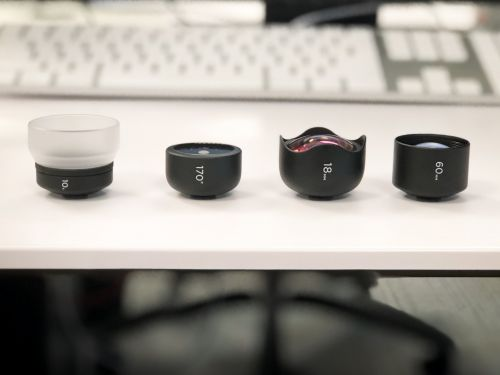 We tried out 4 phone lenses that let you take photos that aren't possible with your stock iPhone camera - take a look