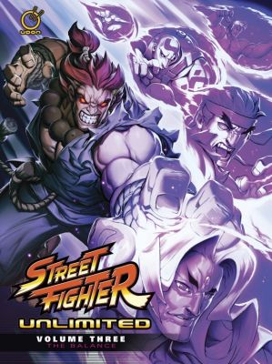 UDON's STREET FIGHTER UNLIMITED Volume 3: The Balance now available to pre-order on Amazon
