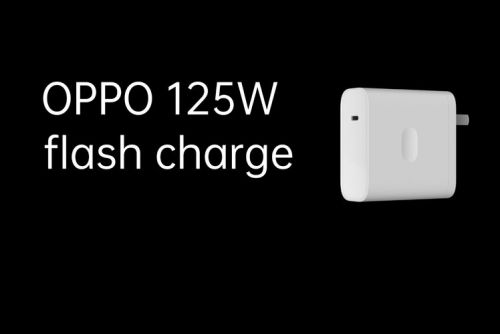 Oppo's latest 125W flash charging tech charges phones at blistering speeds