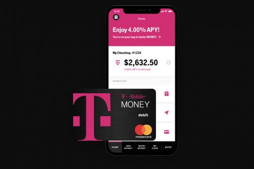 You can now sign up for T-Mobile Money, an exclusive checking account with decent perks