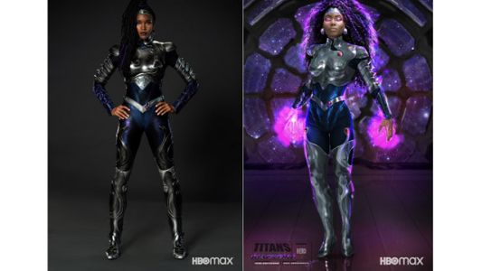 Blackfire Supersuit Reveal for 'Titans' Season 3 is Fire