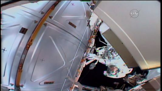 Check Out NASA's 8 Hour Spacewalk On Twitch