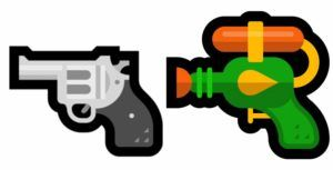 Microsoft continues the water gun emoji chronicles