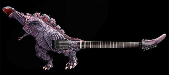 This Officially Licensed Godzilla Guitar Is Insane in Looks and Price