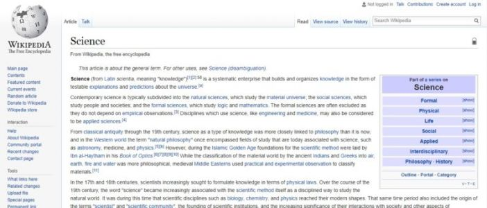 Forget what your school says, MIT research proves Wikipedia is a source for science