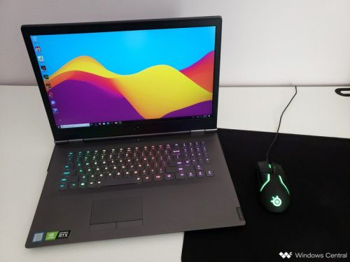 Lenovo's Legion Y740 17 brings RTX graphics in a mature chassis