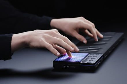 Roli's new Lightpad Block M is a light-up synthesizer that fits in your pocket