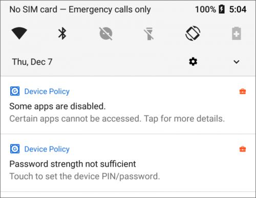 The G Suite Device Policy Will Restrict Non-Critical App Use