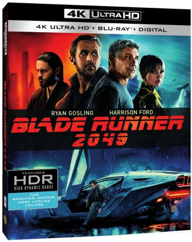 'Blade Runner 2049' 4K Ultra HD, Blu-ray, DVD and Digital Release Dates and Details