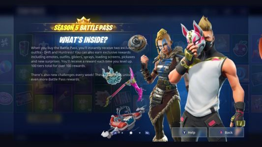 Fortnite's Season 5 Challenge Guide: Lightning Bolts, Risky Reels Treasure Map, And More
