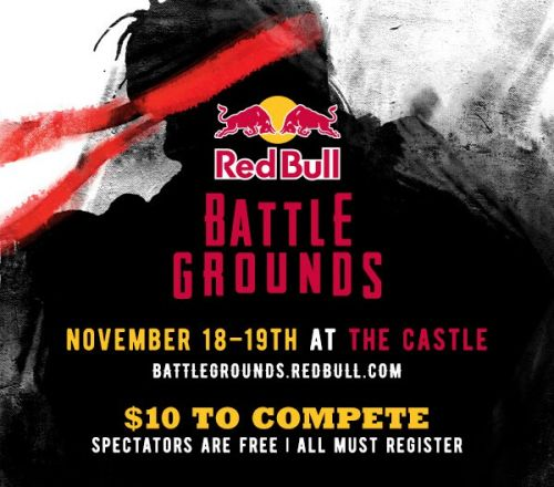 Today's the last day to register for Red Bull Battle Grounds!