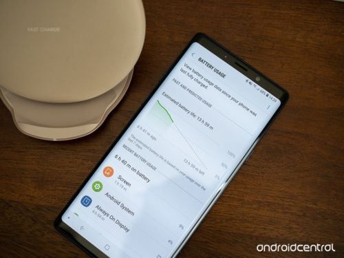 Here's how good the Galaxy Note 9's battery life is in the real world