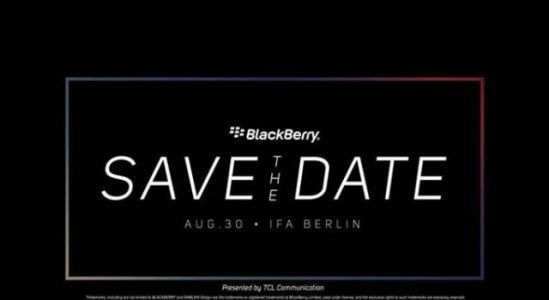 IFA 2018: Blackberry teases August 30 event, Key2 lE on the horizon