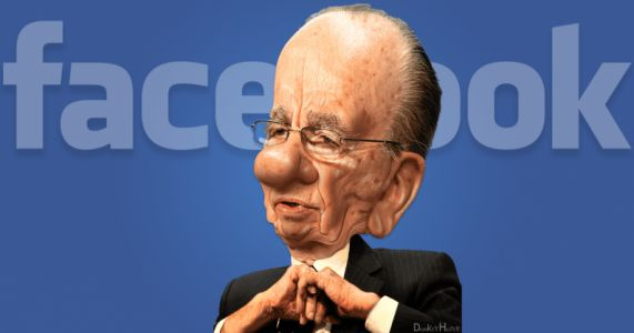 Rupert Murdoch's crazy idea to fix Facebook might just work
