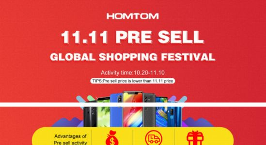 HOMTOM C2 available for just $69.99 in the 11.11 promo pre-sale