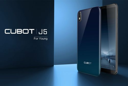 Another budget phone CUBOT J5 coming soon