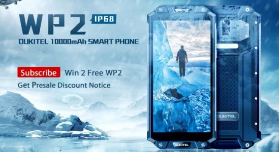 10000mAh Rugged Phone OUKITEL WP2 Specs Confirmed, Subscribe for the Giveaway
