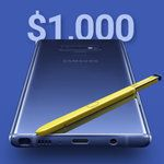 Samsung's Galaxy Note 9 is actually cheaper than the iPhone X everywhere except. in the US