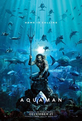 SDCC 2018: Aquaman's First Poster And Trailer Tease Revealed