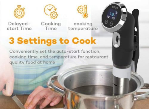 People went nuts over this sous vide cooker on Prime Day, and it's still on sale for just $48