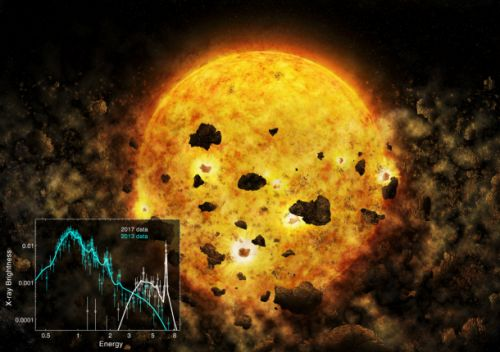 NASA may have just caught a nearby star eating an entire planet