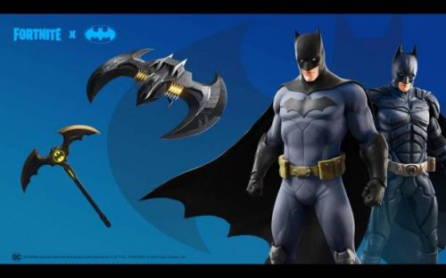 Fortnite celebrates Batman Day with skins, special challenge
